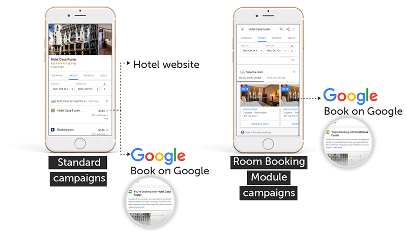 room booking module Google RBM
